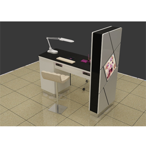 Indoor beauty new design cheap manicure tables-SY049--food kiosk ...