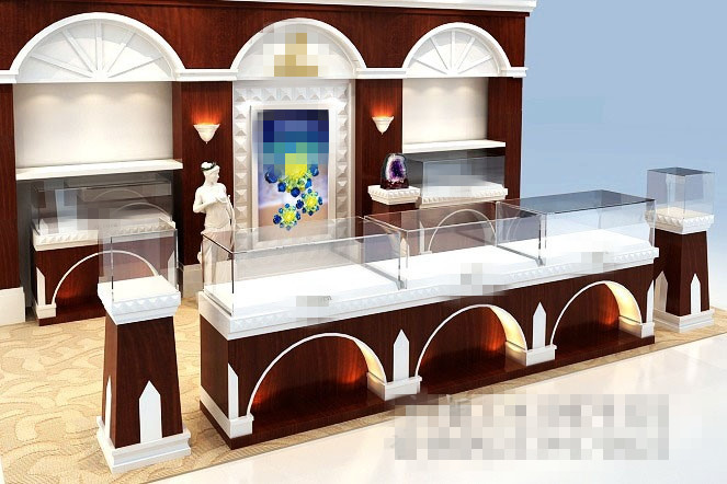 mobile cell phone store interior design