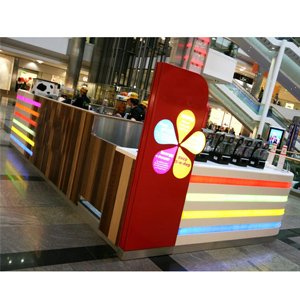 High Grade Modern Fast Food Counter Design For Mall--food